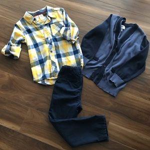 🔹3 piece bundle 4t boys outfit🔹